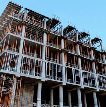 Condo development in an up-and-coming neighbourhood