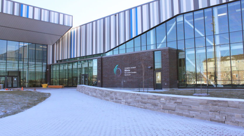 Recreation centre in Half Moon Bay in South Barrhaven.