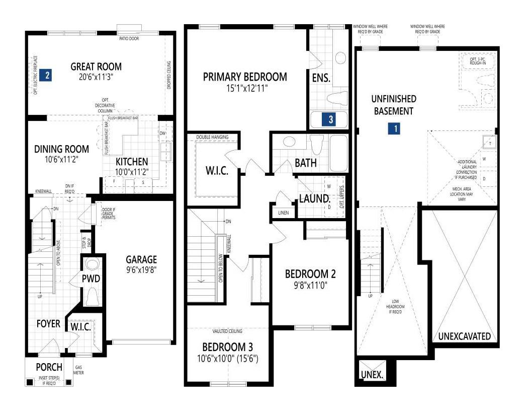 Builder's Floor Plan
