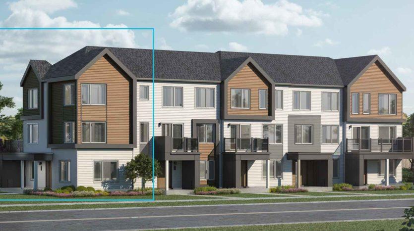 Real estate development in Barrhaven neighbourhood.