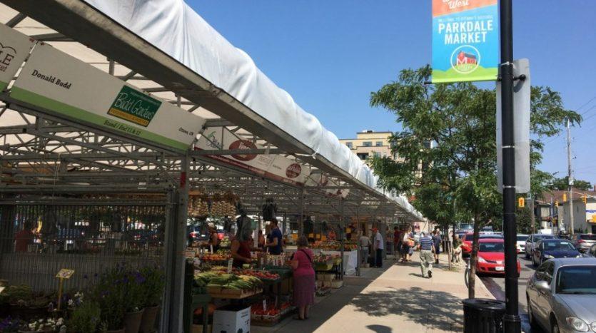 Parkdale market in Hintonburg neighbourhood.